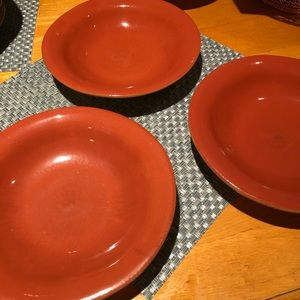 Vietri Shallow Soup Bowls (3)